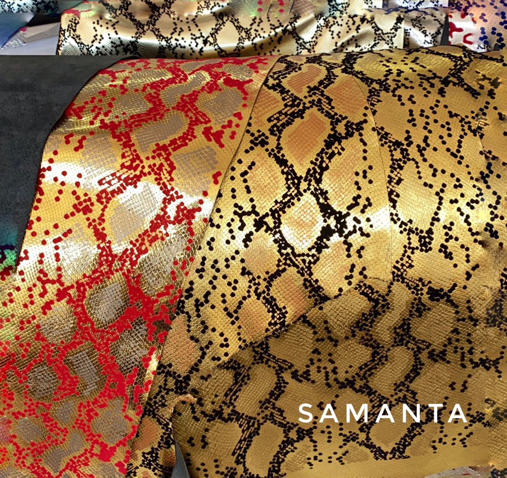 luxury leather, conceria samanta
